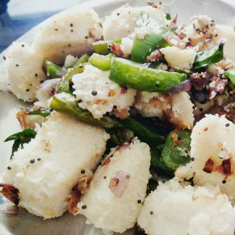 How to make Chilli idli