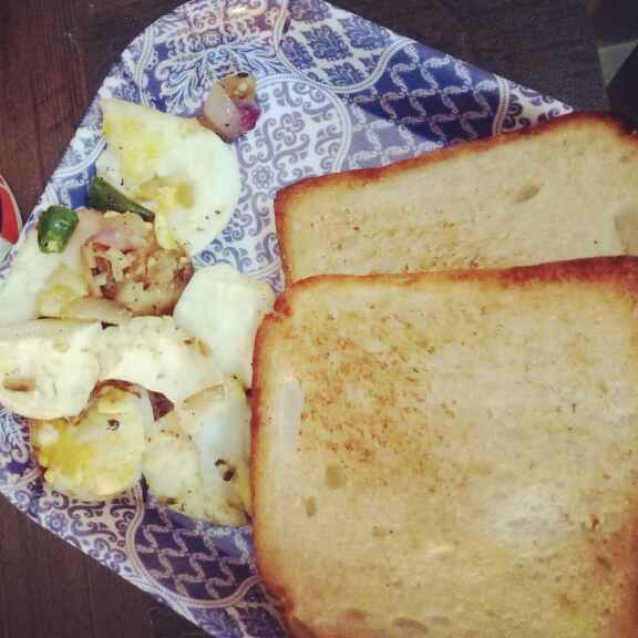 How to make Boiled egg with bread