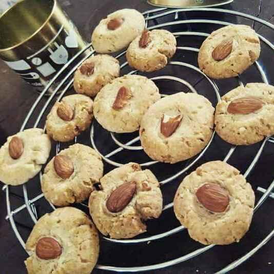 Photo of Badam cookies by shatakchhi rai at BetterButter