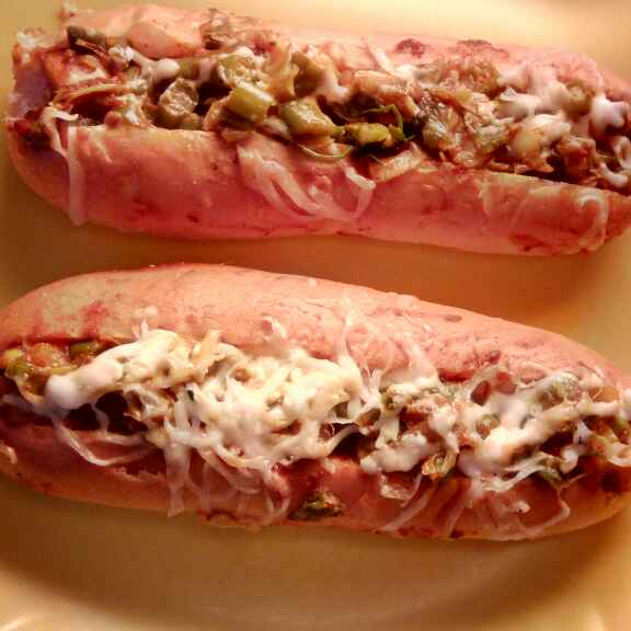 How to make Baked Hot dog