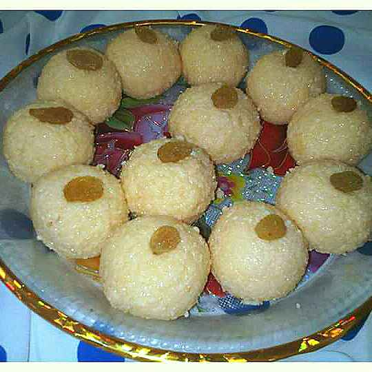 Photo of Malai laddu by Musfirah's Recipes at BetterButter