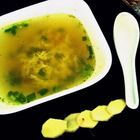 How to make Ginger Egg Drop Soup