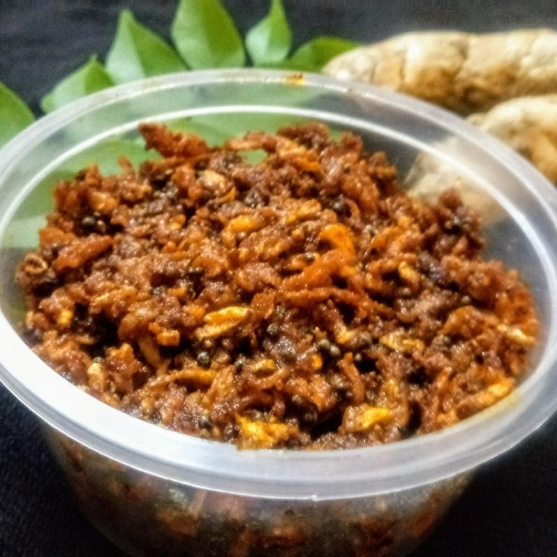 Photo of Crispy Injimanga Pickle(Mango Ginger) by Sheena Omana Narayanan at BetterButter