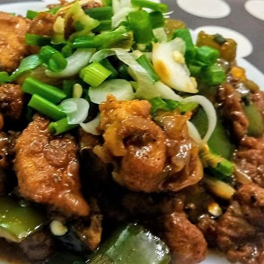 How to make Chicken Manchurian Dry