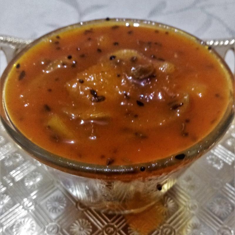 How to make Rajasthani Kairi ki Launji( Raw Mango Launji)