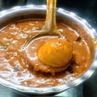 How to make Egg masala in Coconut gravy