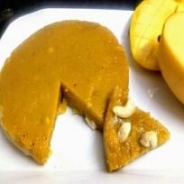 How to make Mango Custard Halwa