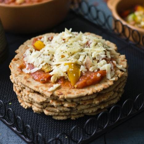 Photo of Bhakhri Pizza by Sheetal Bhatt at BetterButter
