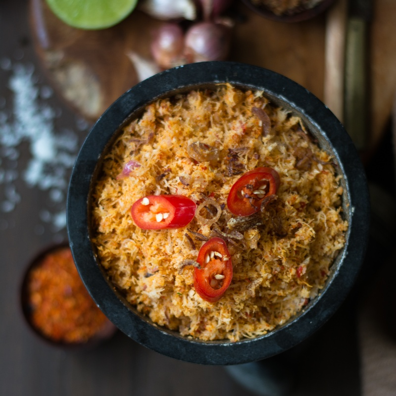 Photo of Pol Sambol - Sri Lankan Coconut Sambol by Sheetal Bhatt at BetterButter