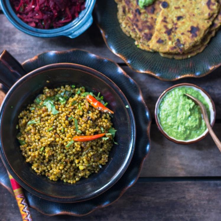 How to make Bajri ni Ghooghri - Tempered Pearl Millet
