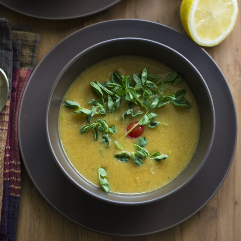 Photo of One pot Lentil Soup by Sheetal Bhatt at BetterButter