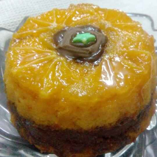 How to make Orange and Choco Cake