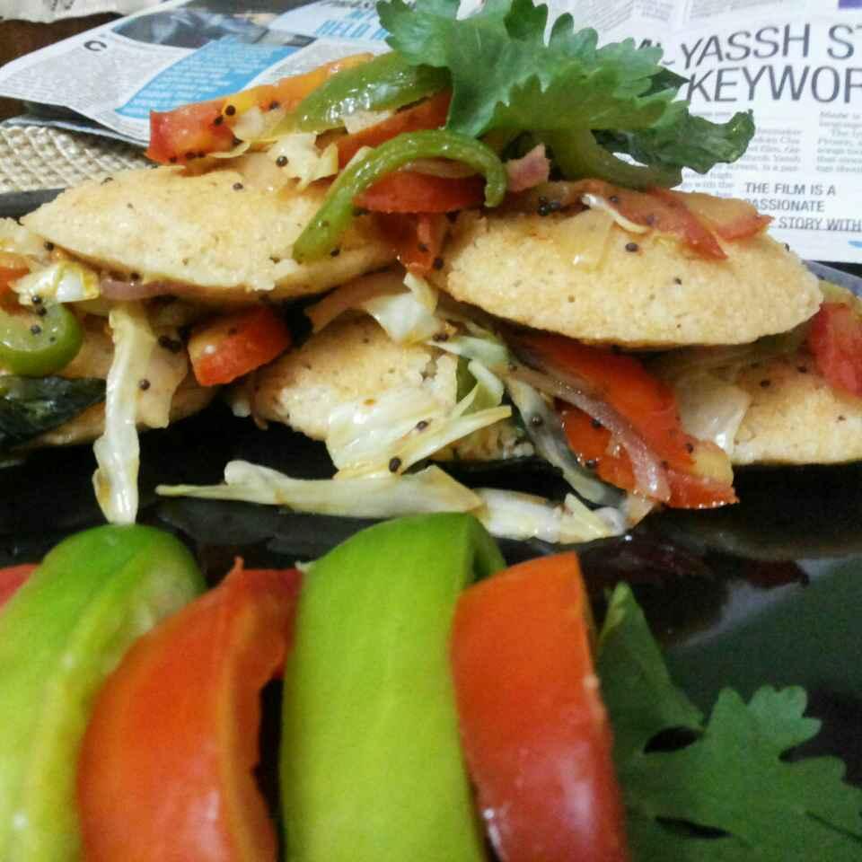 How to make Oats Idli with Crispy Veggies