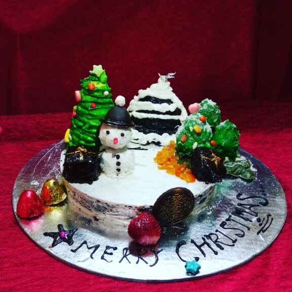 Photo of Christmas Cake by Shhital Rani Singhariya at BetterButter