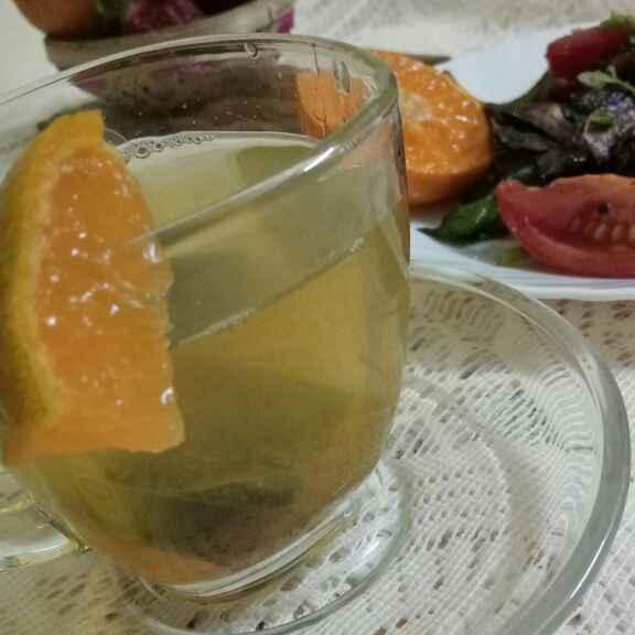 How to make Orange Green Tea