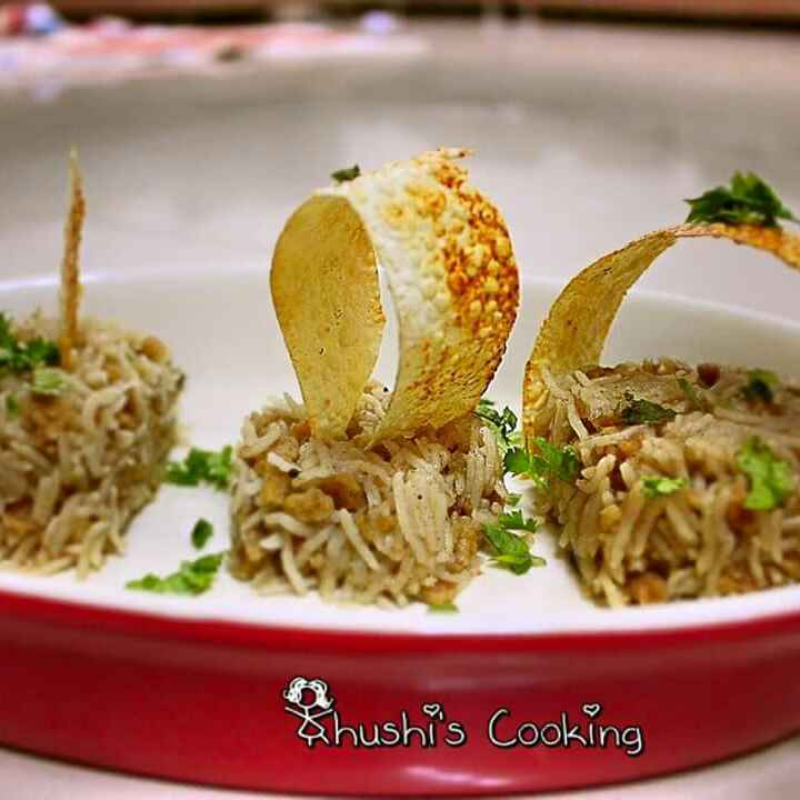 How to make मुंगौडी पुलावा