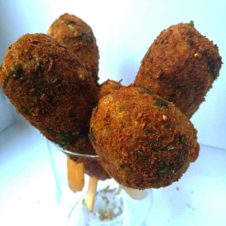Photo of Paneer macroni lollipops by Shikha Gupta at BetterButter