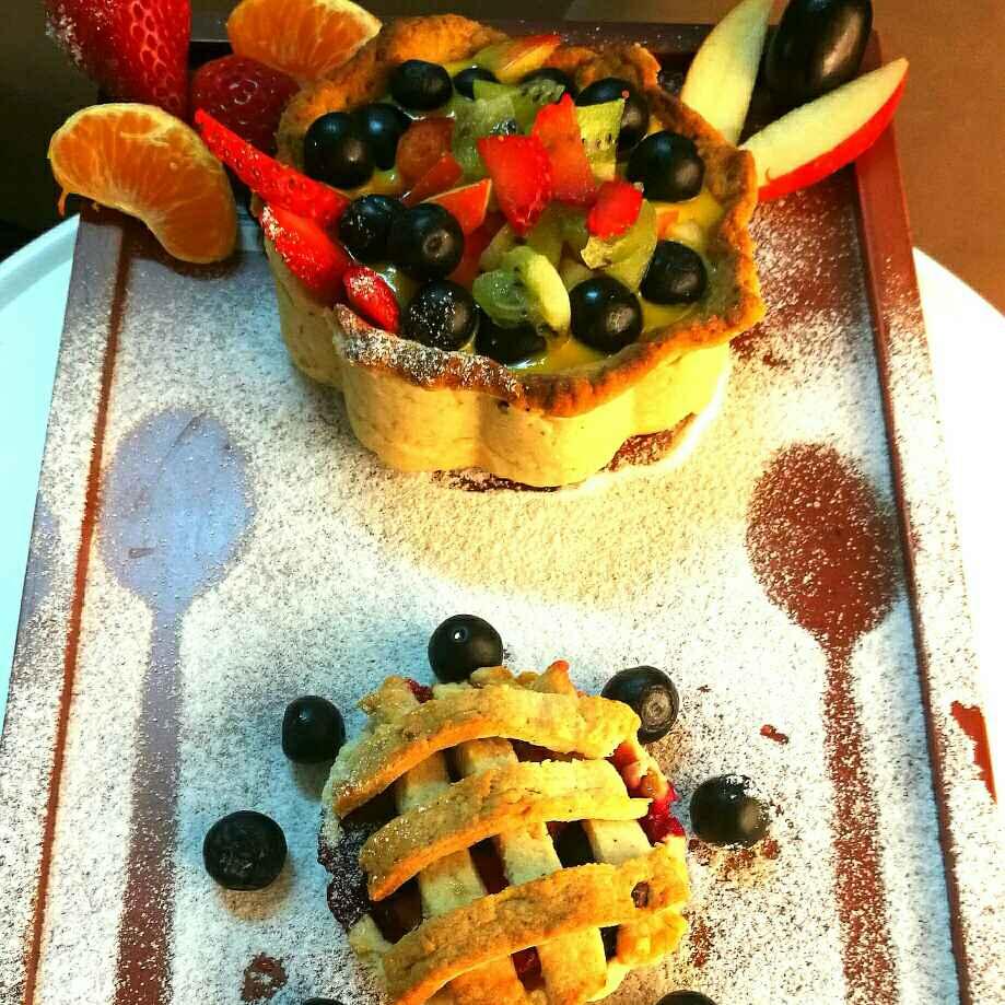 Photo of Fruit custard pie bowl by Shikha Gupta at BetterButter