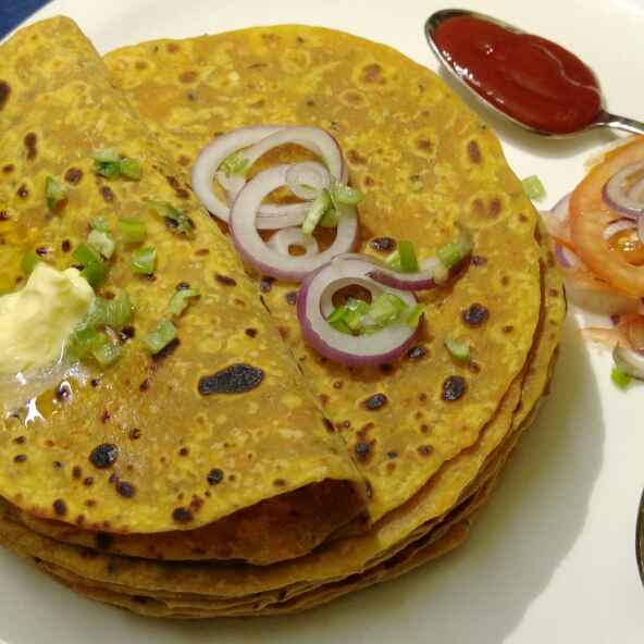 Photo of Carrot paratha by Shilpa Ghosh at BetterButter
