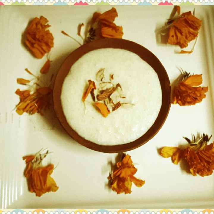 How to make #Rice phirni