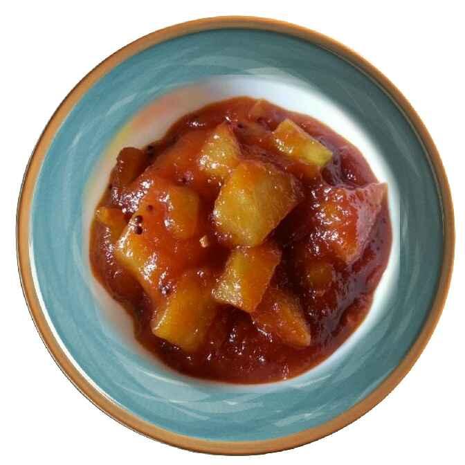 Photo of #Sweet Mango Pickle by Shilpa gupta at BetterButter