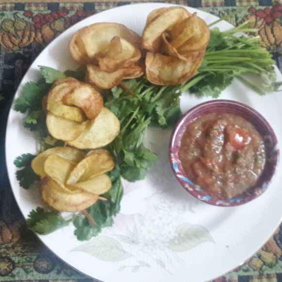 How to make #Potato Roses