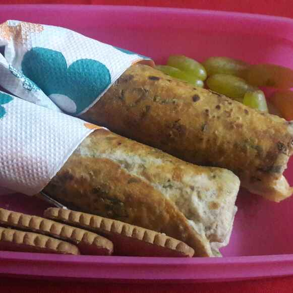 How to make Paneer parcel