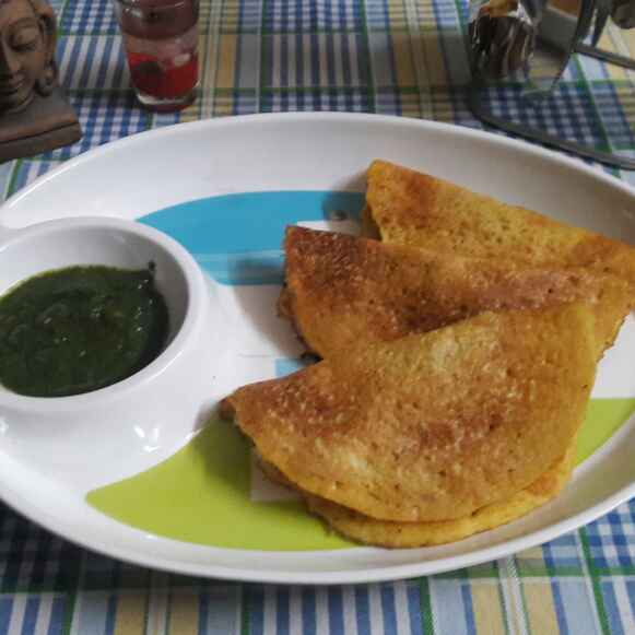 How to make #Moong dal chilla