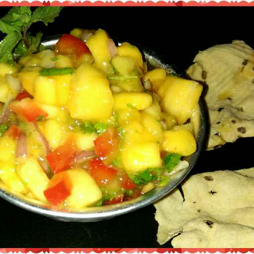 How to make #Mango salsa