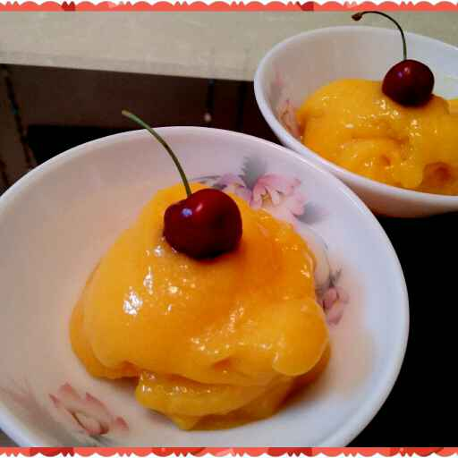 How to make MANGO SORBET