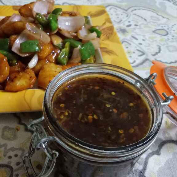 How to make HONEY CHILLI SAUCE