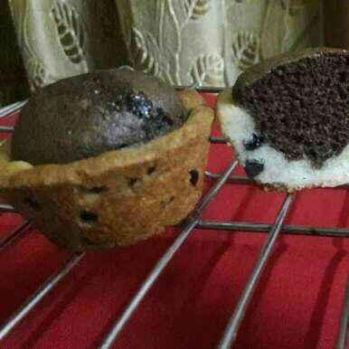 How to make Cookies cup brownie