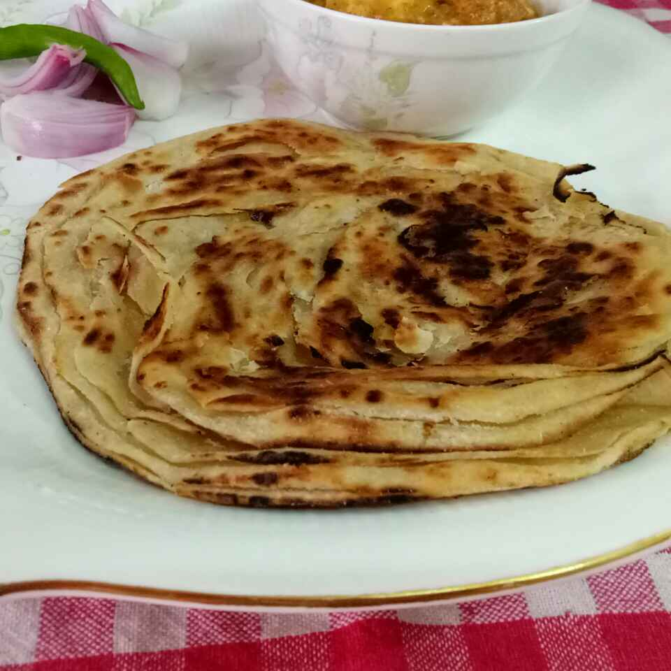 Photo of Lachcha parantha by Shilpa gupta at BetterButter