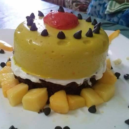 Photo of Mango Mousse by Shilpa Ray at BetterButter