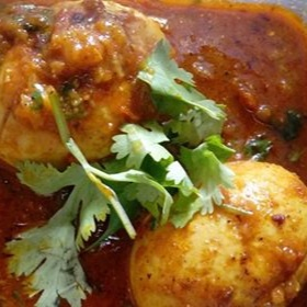 How to make Spicy Egg Salan