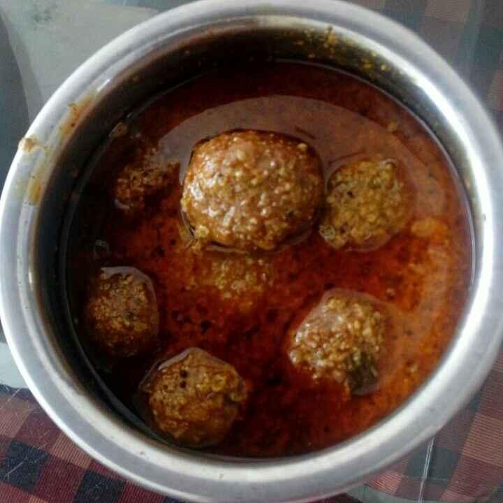 Photo of Dudhichi kofta kari by Shilpa Deshmukh at BetterButter