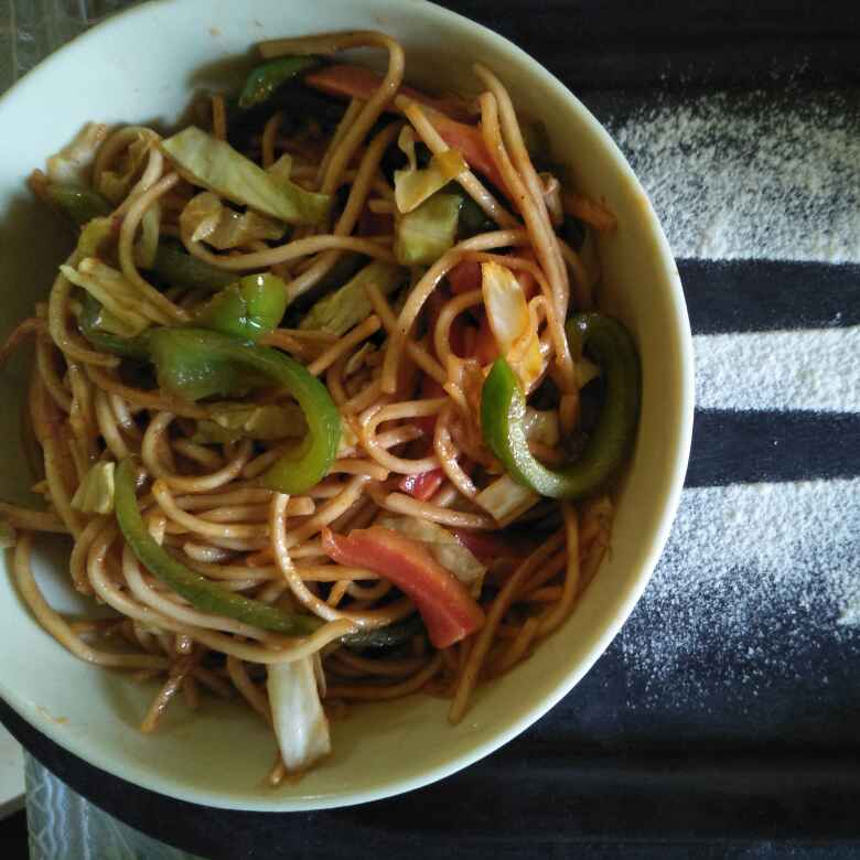 How to make वेज नूडल्स