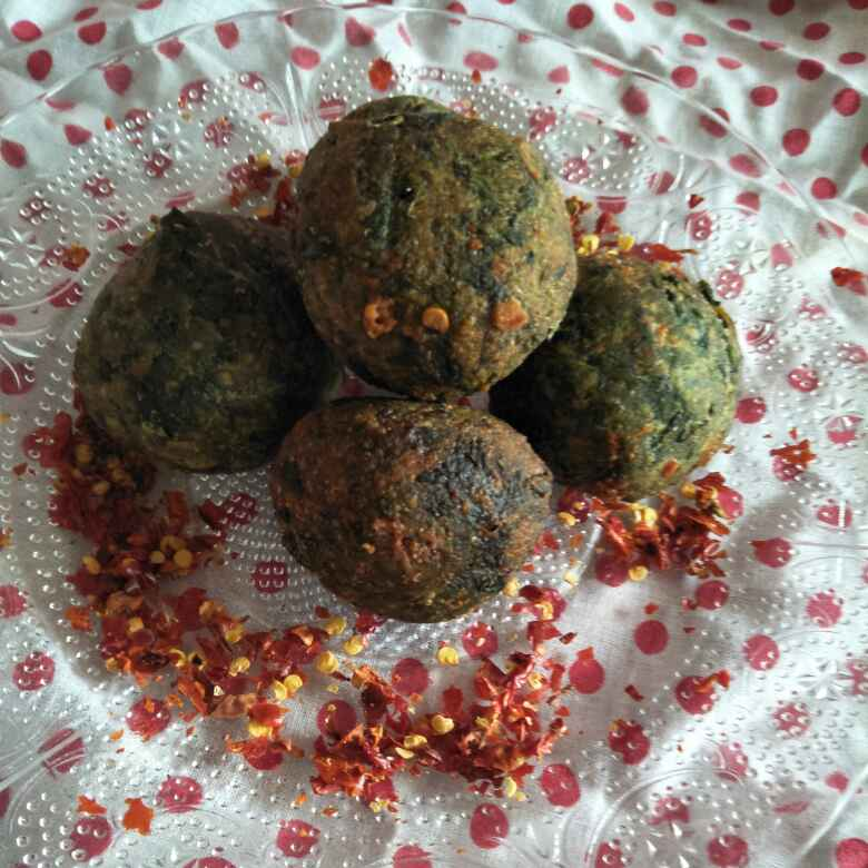 Photo of Spinach cheej ball by Shilpa Deshmukh at BetterButter