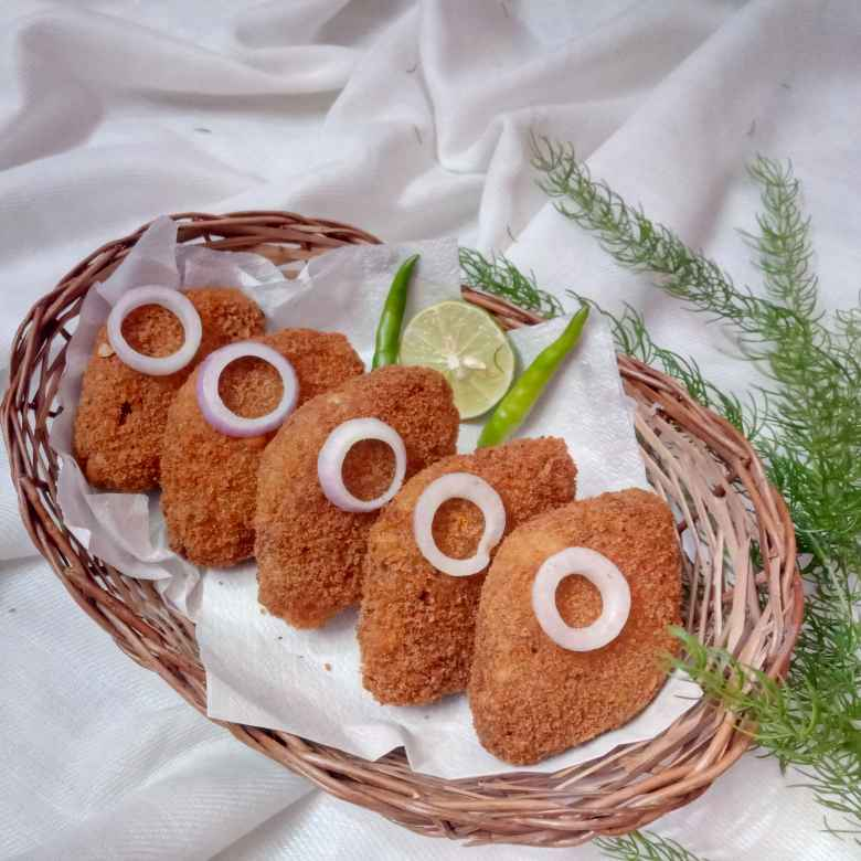 Photo of Raw jackfruit cutlet by Shipra Kundu at BetterButter