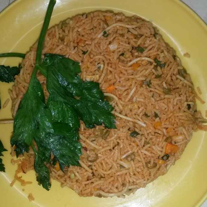 How to make Schezwan Noodles and Rice