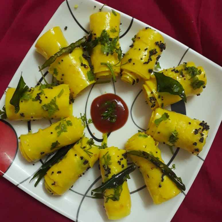 How to make Fast & Easy Cooker khandvi recipe
