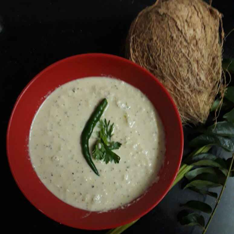 How to make नारियल की चटनी