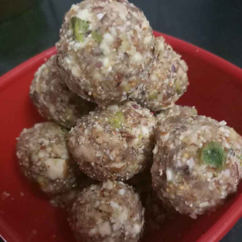 Photo of Meve ke laddu by Shital Sharma at BetterButter