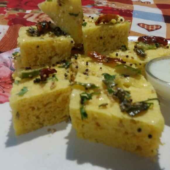 Photo of Chana dal dhokla by Shivangee Shivi at BetterButter