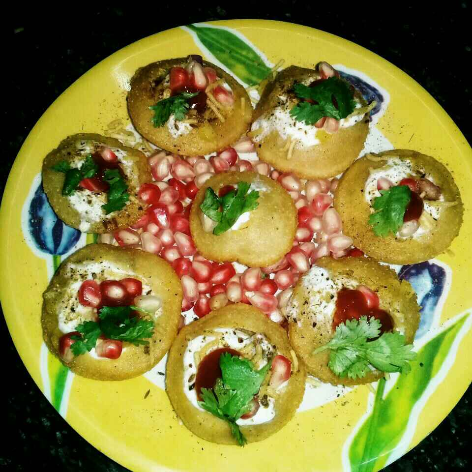 How to make Gol gappa chat