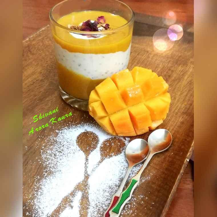 How to make Mango-Coconut-Chia Pudding