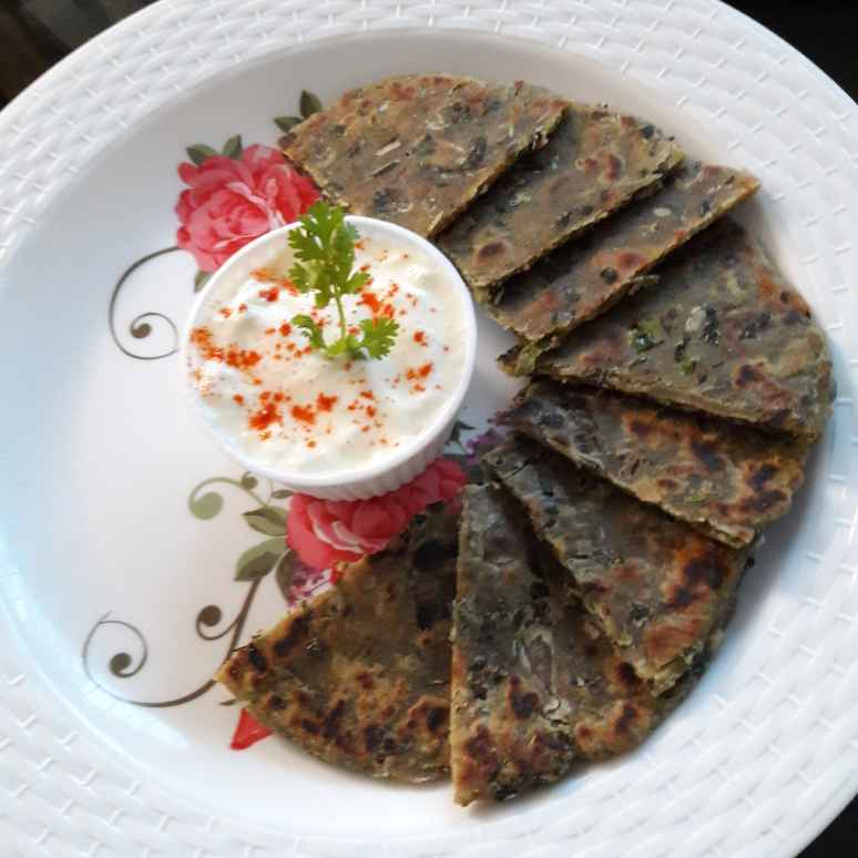 Photo of Methi ka paratha by Shivani Srivastav at BetterButter
