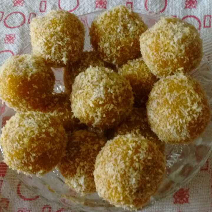 Photo of Mango rava Laddoo by Shoba Bharathraj at BetterButter
