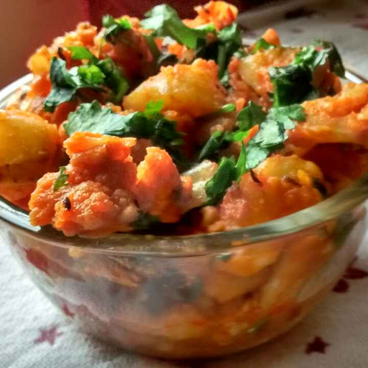 How to make Aloo Gobhi Sukha(no onion no garlic)
