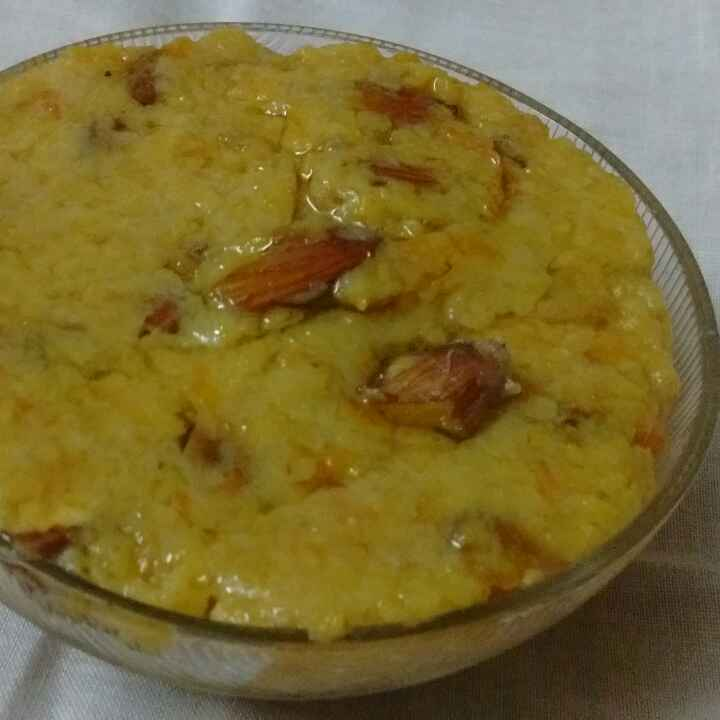 How to make Oats and Carrot Halwa